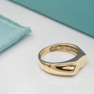 Tiffany & Co. 18K Yellow Gold Pinky Ring